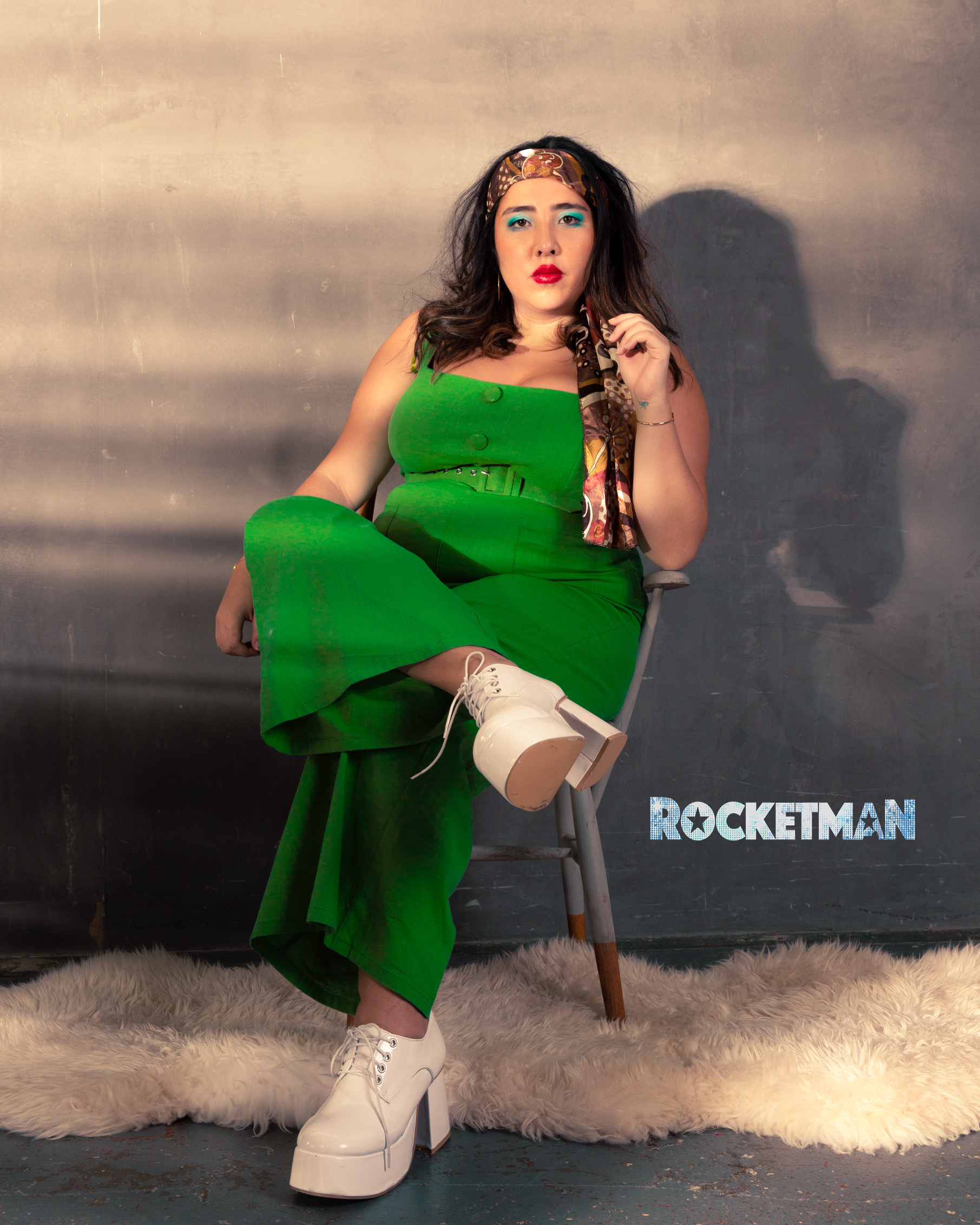 Rocketman Shoot for Paramount