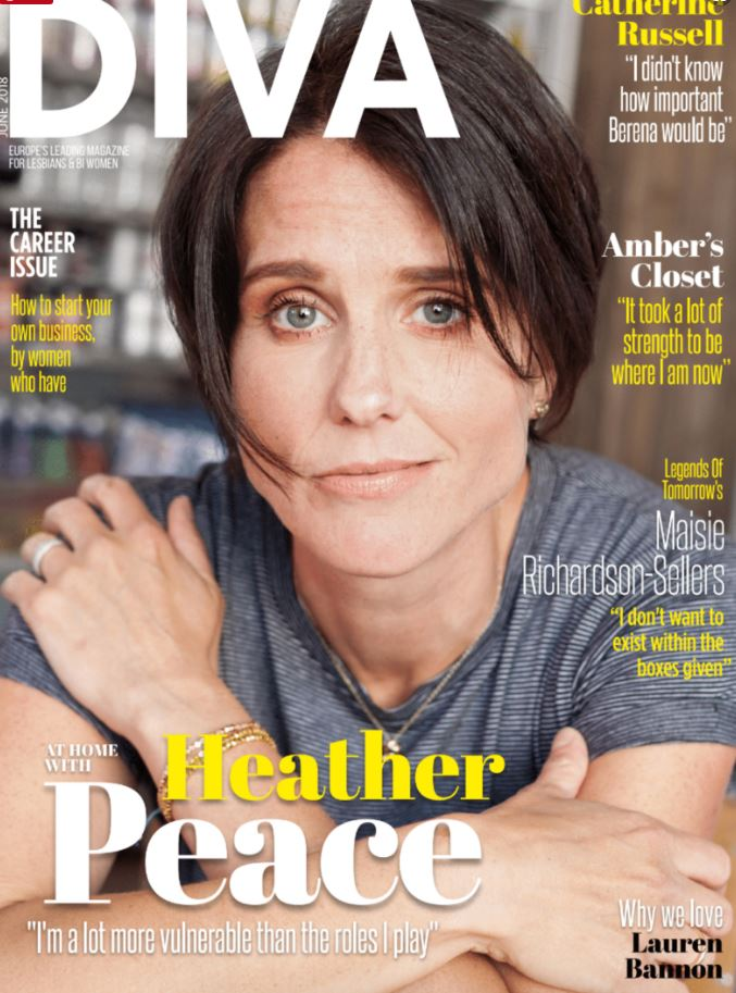 Heather Peace - DIVA Magazine
