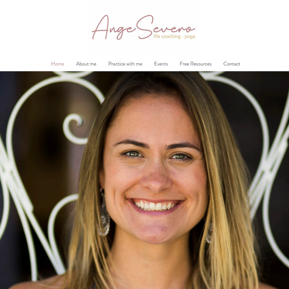 Ange Severo - Life Coach e Yoga - Londres