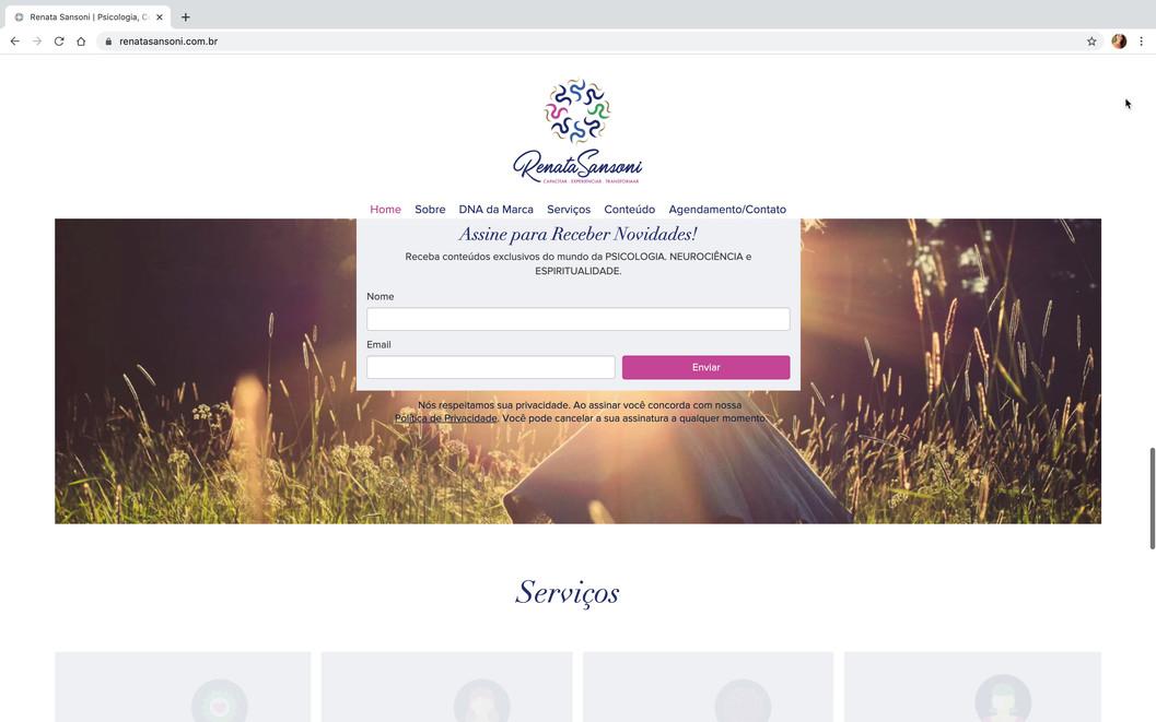 Citrino Aflora - Renata Sansoni - Website