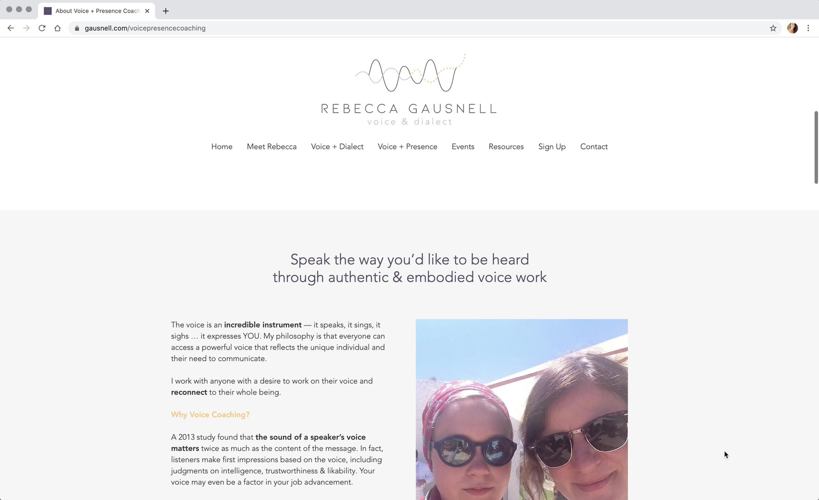 Rebecca Gausnell - Website.mov