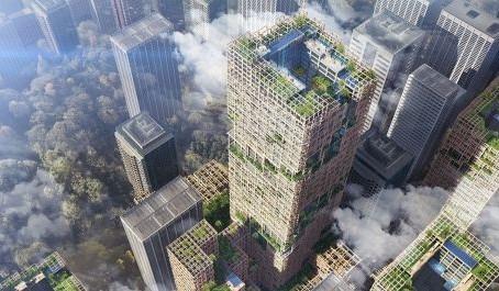 Проект деревянного небоскреба получил специальный приз жюри MIPIM Awards