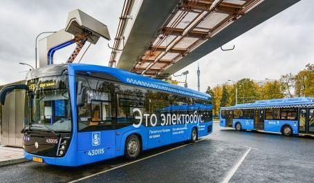 Москва откажется от закупки автобусов в пользу электробусов — Собянин