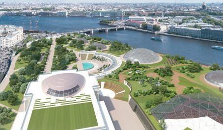 Петербург объявил победителей конкурса на лучший проект аналога «Зарядья»
