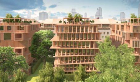 Эксперты раскрыли особенности проекта первой деревянной многоэтажки