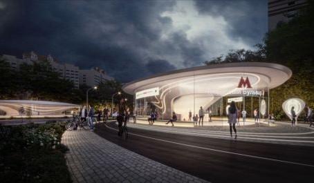 В Москве появится станция метро по проекту бюро Захи Хадид