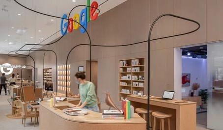 Google октрыла первый магазин (видео)