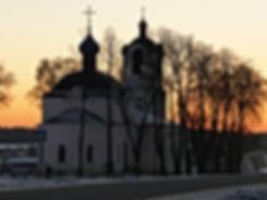 Храм в честь Покрова Пресвятой Богородицыс. Локотня, Московская епархия (областная), Одинцовское благочиние