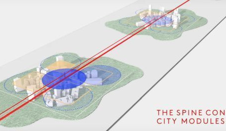В Саудовской Аравии построят «пешеходный город будущего» без машин и дорог (видео)