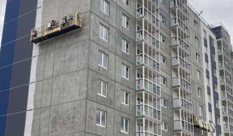Объем нового строительства жилья в России вырос в 1,6 раза