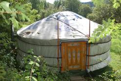 Ein Nomade findet sein Zelt