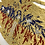 """Thumbnail: Wall Decor """"Fly with the eagle"""" Gold"""