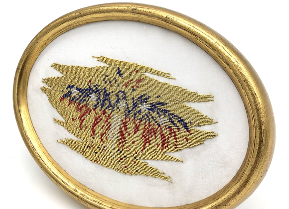 """Wall Decor """"Fly with the eagle"""" Gold"""
