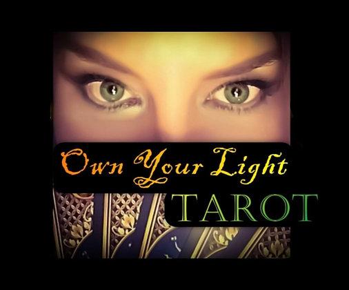 1 Hour Tarot Reading