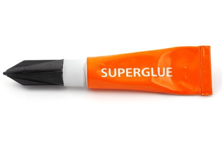 Super glue Orange
