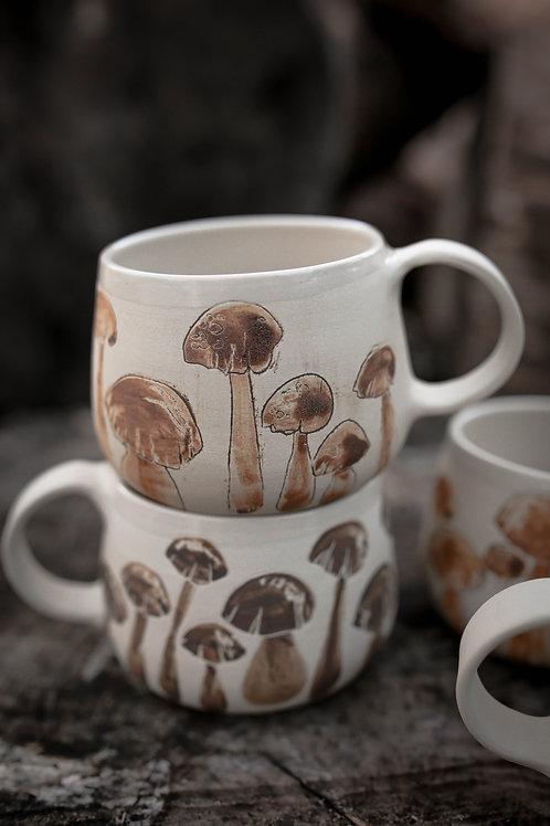 "Mug  ""champignons"""