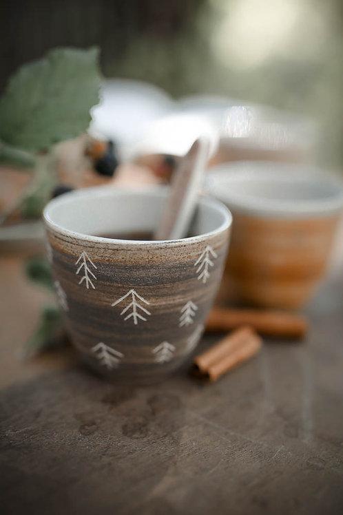 "Tasse à café sapin ""Expresso"""