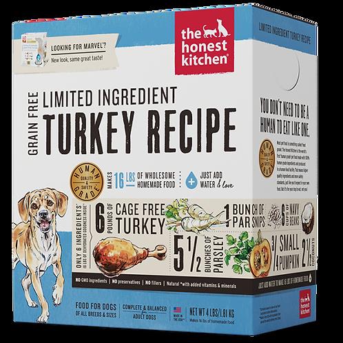 HK Dog Dehydrated GF LID Turkey & Parsnip