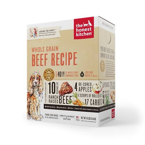 HK Dog Dehydrated Whole Grain Beef
