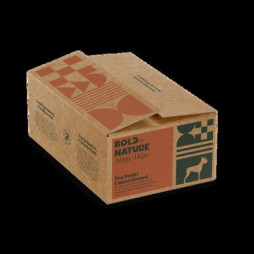 Bold by Nature Dog Mega Variety Pack Chkn Free Patties 24 lb