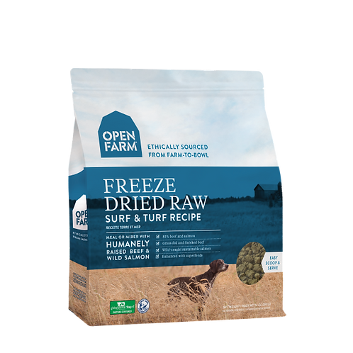 Open Farm Dog Freeze Dried Raw Surf & Turf
