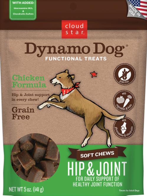 Cloud Star Dynamo Functnl Soft Chews HipJoint Ckn 14oz