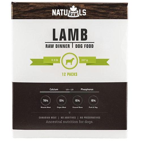 Naturawls Raw Lamb & Veggie 12/227GM