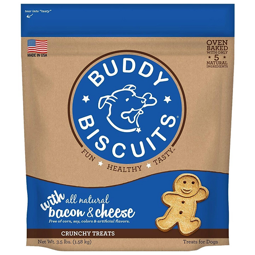 Buddy Biscuits Oven Baked Crunchy Treats  3.5 lb