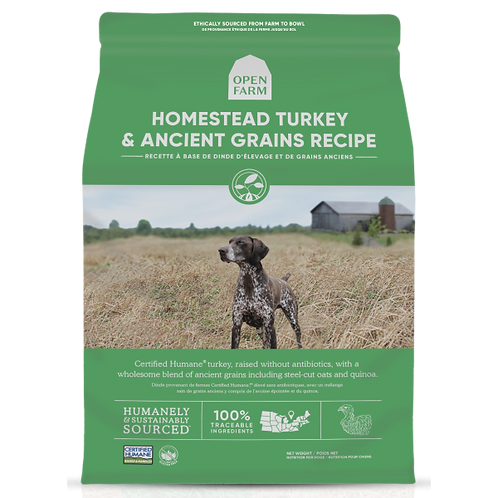 Open Farm Dog Homestead Turkey & Ancient Grain 4 lb