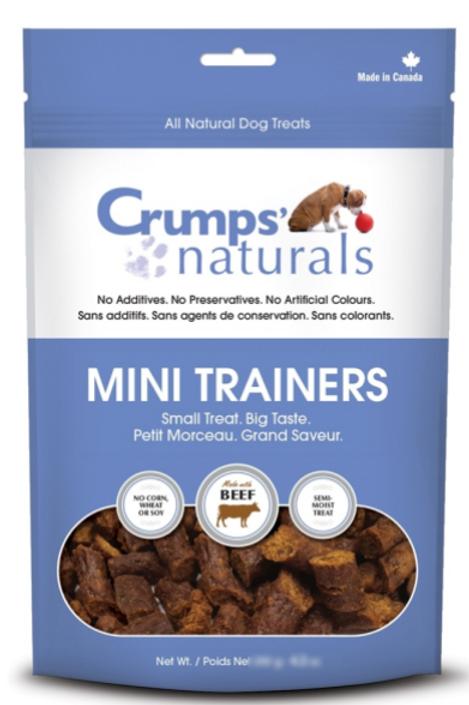 Crumps' Naturals Dog Mini Trainers Semi-moist Beef 8.8 oz