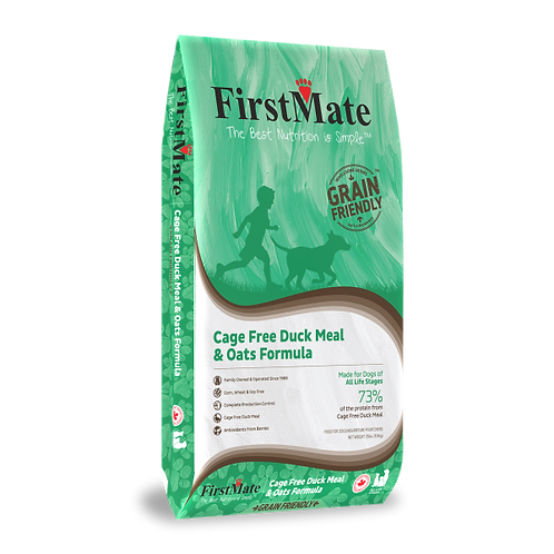 FirstMate Dog GFriendly Cage Free Duck & Oats