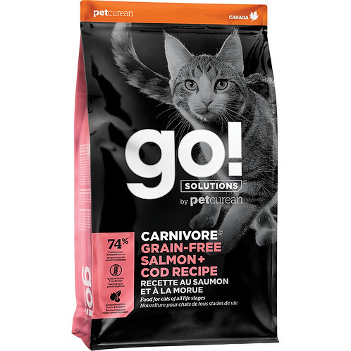 GO! Carnivore Salmon & Cod