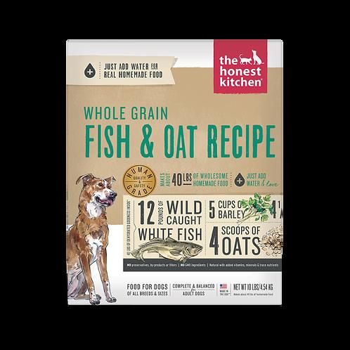 HK Dog Dehydrated Whole Grain Fish & Oats