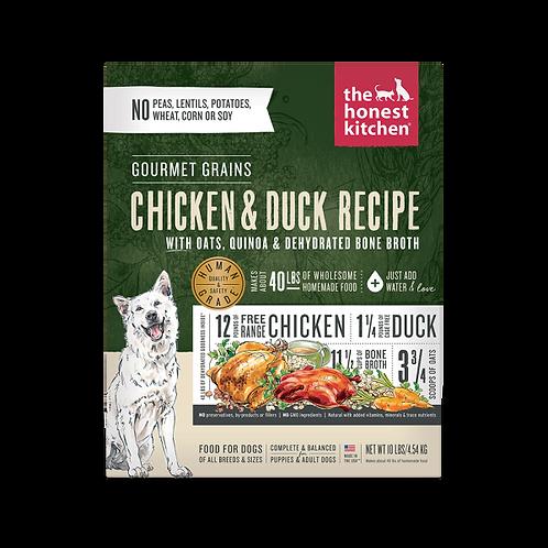 HK Dog Dehydrated Gourmet Grains Chicken & Duck