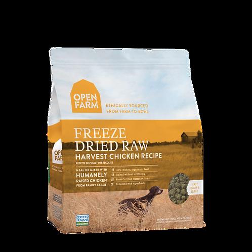 Open Farm Dog Freeze Dried Raw Harvest Chicken