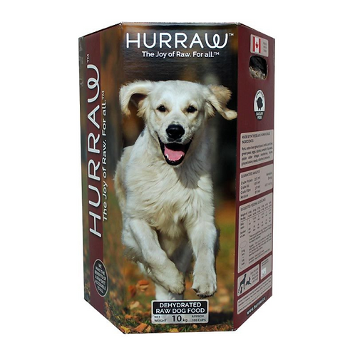 Hurraw Dog Dehydrated Raw Pork 2.5 kg