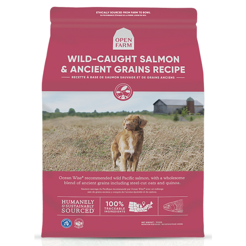 Open Farm Dog Wild Salmon & Ancient Grain 22 lb