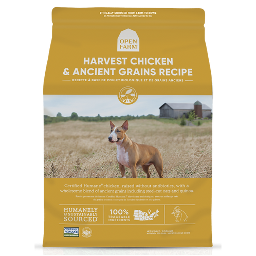 Open Farm Dog Harvest Chicken & Ancient Grain 4 lb