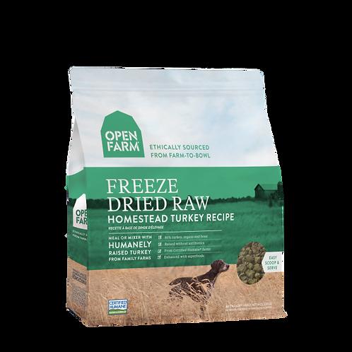 Open Farm Dog Freeze Dried Raw Homestead Turkey