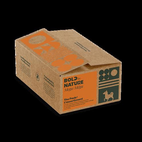 Bold by Nature Dog Mega Variety Pack w/ Chkn Patties 24 lb