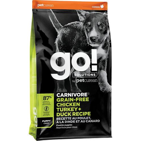 GO! Carnivore GF Chicken Turkey Duck Puppy