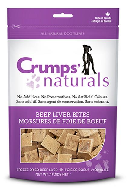 Crumps' Naturals Dog Beef Liver Bites 10 oz