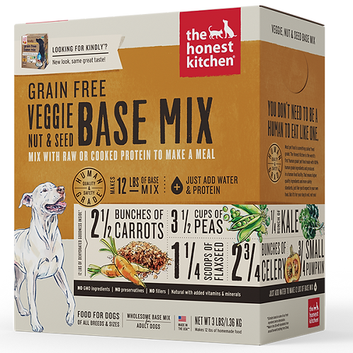 HK Dog Dehydrated GF Veggie Nut & Seed Base Mix