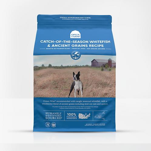 Open Farm Dog Catch Whitefish Ancient Grain 4 lb