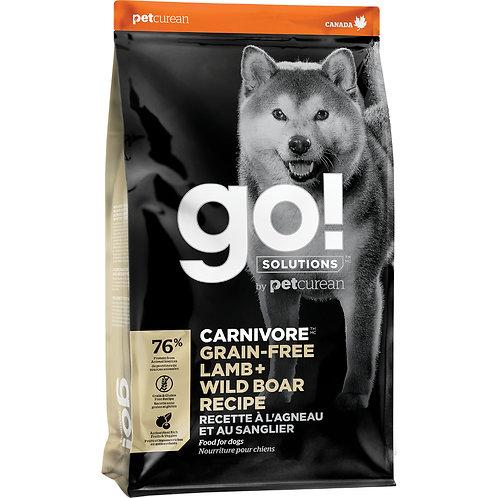 GO! Carnivore GF Lamb & Wild Boar