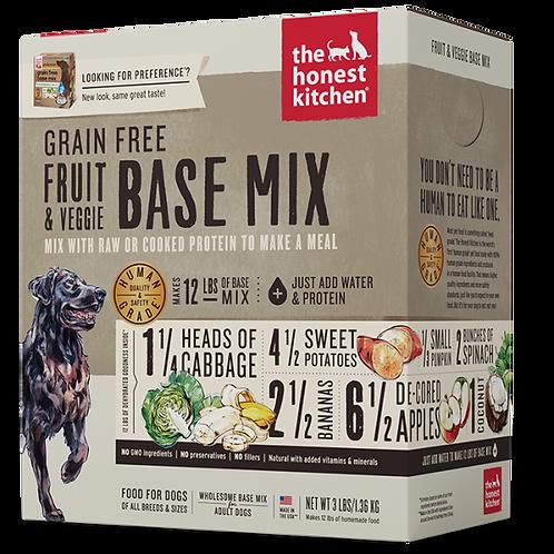 HK Dog Dehydrated GF Fruit & Veggie Base Mix