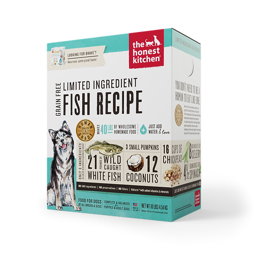 HK Dog Dehydrated GF LID Fish & Coconut