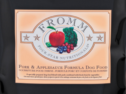 Fromm Dog Four-Star Pork & Applesauce