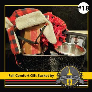 Fall Comfort Gift Basket
