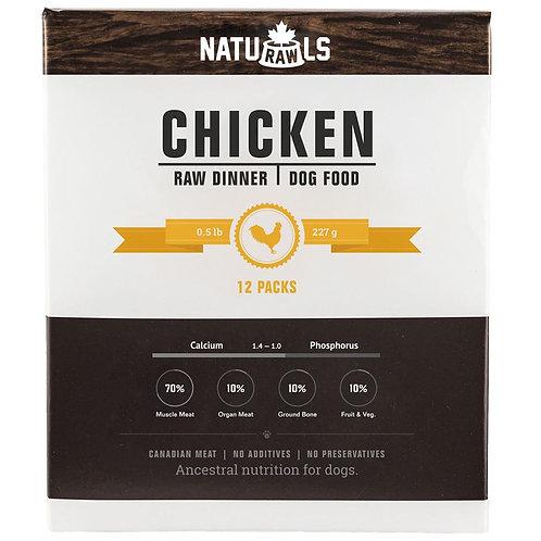 Naturawls Raw Chicken & Veggie 12/227GM